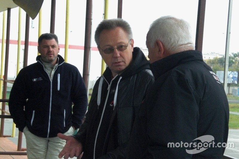 Андрій Гайдамаченко, Начальник безпеки Олександр Кулаков, Директор гонки Леонід Леонов