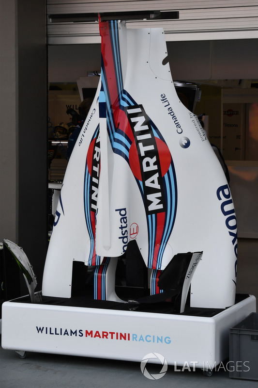 Williams FW40, Karosserie