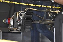 Mercedes F1 W08: Hinterradbremse