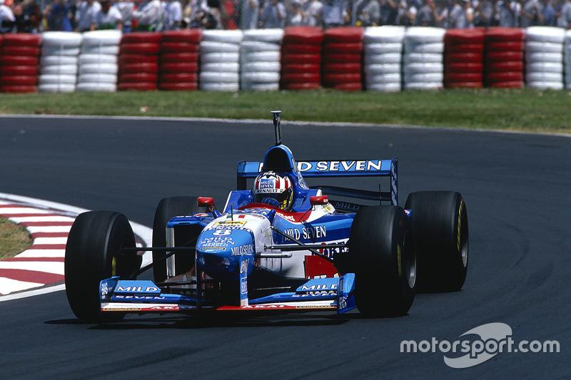 #8: Alexander Wurz, Benetton B197