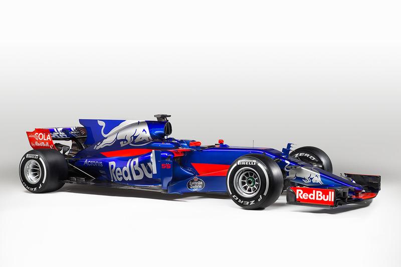 De Toro Rosso STR12 heeft een verfrissende nieuwe look gekregen