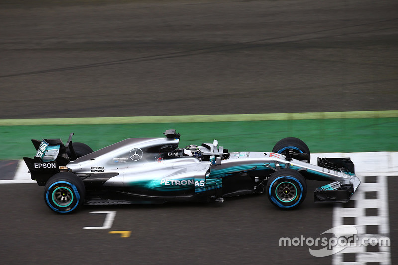 2017: Mercedes AMG F1 W08