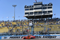 Justin Allgaier, JR Motorsports Chevrolet takes the checkered flag and the win