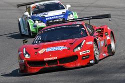 #11 Scuderia Praha, Ferrari 488 GT3: Jiri Pisarik, Josef Kral, Matteo Malucelli