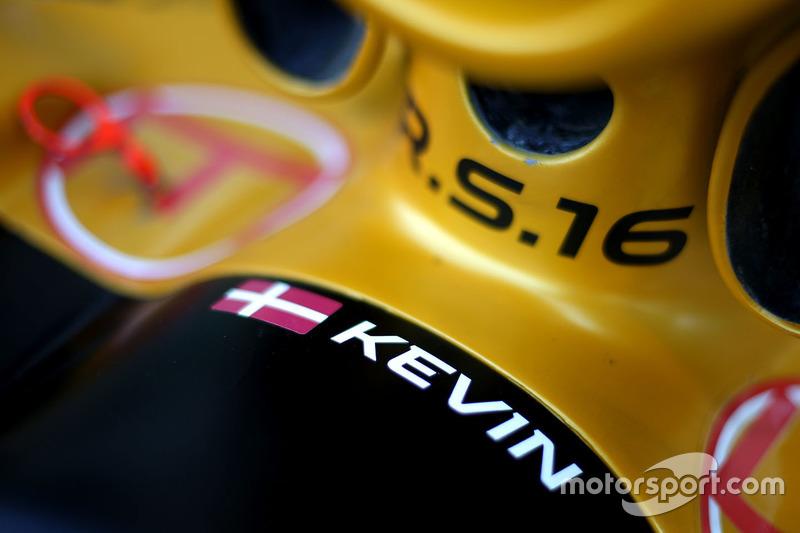 Kevin Magnussen, Renault Sport F1 Team RS16 detail