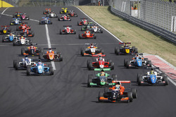 Gabriel Aubry, Tech 1 Racing leads