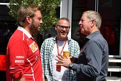 Gino Rosato, Ferrari, Jacques Villeneuve, Sky Italiam Martin Brundle, Sky TV