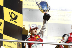 Podio: il secondo classificato Mike Rockenfeller, Audi Sport Team Phoenix, Audi RS 5 DTM