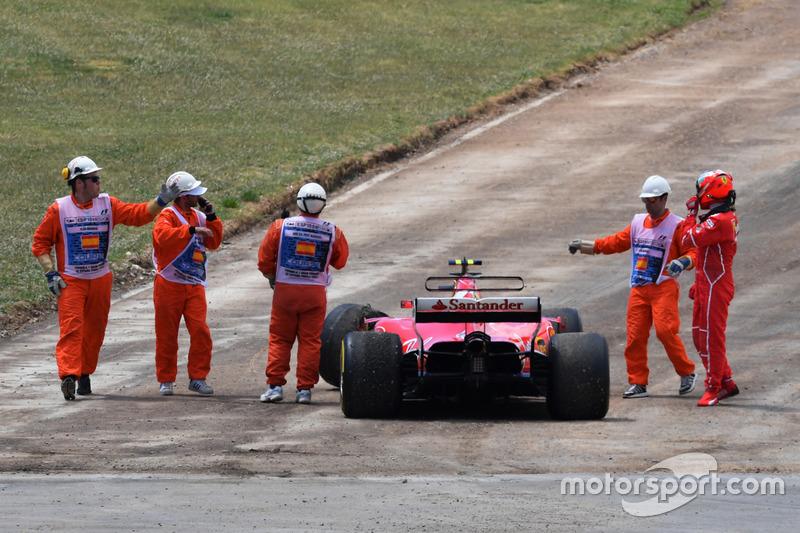Abandon : Kimi Räikkönen (Ferrari)