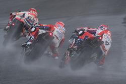 Marc Marquez, Repsol Honda Team, Marc Marquez, Repsol Honda Team, Andrea Dovizioso, Ducati Team, Danilo Petrucci, Pramac Racing
