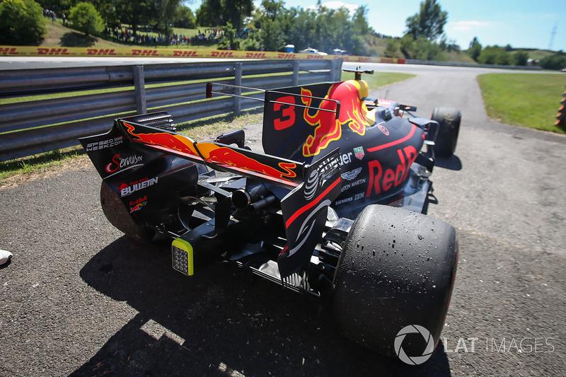 El auto de Daniel Ricciardo, Red Bull Racing RB13