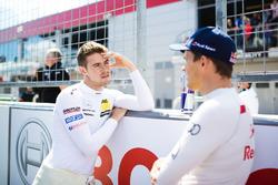 Paul Di Resta, Mercedes-AMG Team HWA, Mercedes-AMG C63 DTM and Mattias Ekström, Audi Sport Team Abt Sportsline, Audi A5 DTM