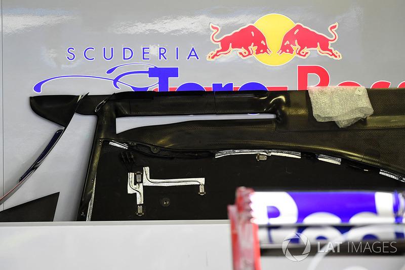 Toro Rosso STR12: Unterboden