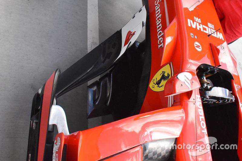 Ferrari SF70-H sidepods detalle