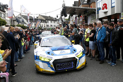 #5 Phoenix Racing, Audi R8 LMS: Frank Stippler, Mike Rockenfeller, Nicolay Møller Madsen, Dennis Busch
