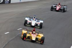 Ryan Hunter-Reay, Andretti Autosport Honda, Ed Jones, Dale Coyne Racing Honda