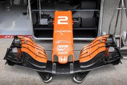 McLaren MCL32, cono de nariz