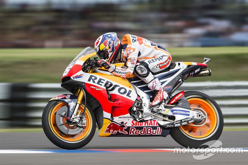 Dani Pedrosa, Repsol Honda Team, practice start