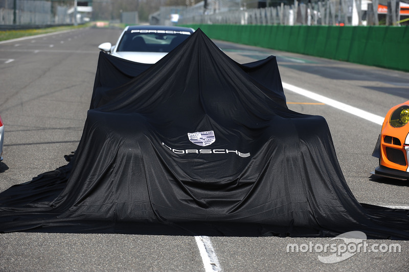 Porsche Team Porsche 919 Hybrid, during the unveil