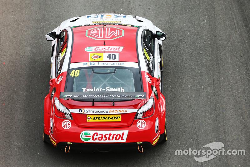 Aron Taylor-Smith, MG Racing RCIB Insurance, MG6GT