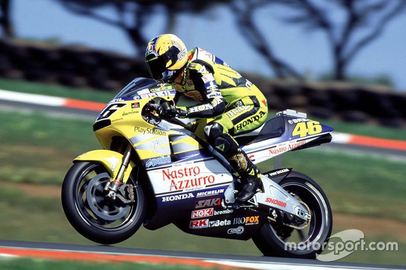 Valentino Rossi - 299 balapan