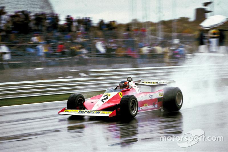 Жиль Вильнев, Ferrari 312T3
