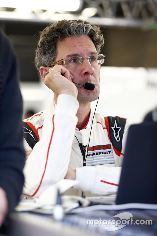 Dr. Frank-Steffen Walliser, Porsche Team