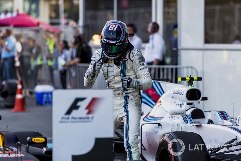3. Lance Stroll, Williams