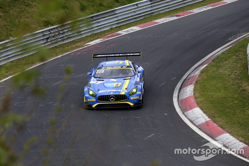 7. #3 Black Falcon, Mercedes-AMG GT3
