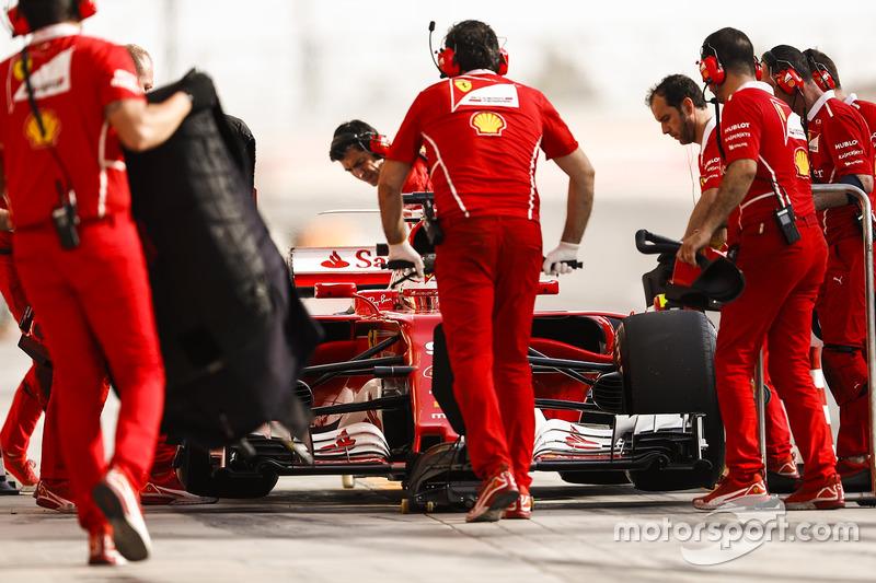 Antonio Giovinazzi, Ferrari SF70H