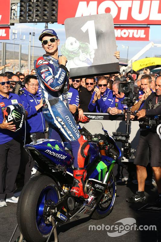 Le vainqueur Jorge Lorenzo, Yamaha Factory Racing