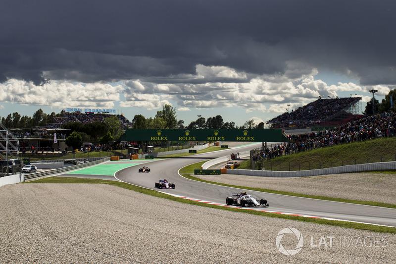 Шарль Леклер, Sauber C37, Серхио Перес, Force India VJM11