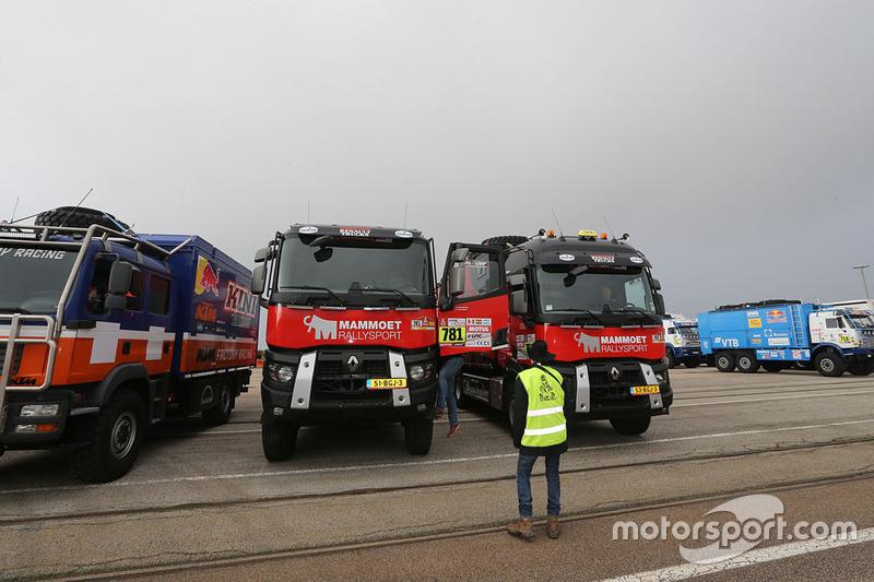 Teams verzamelen in Le Havre voor de lange trip naar Lima, Peru