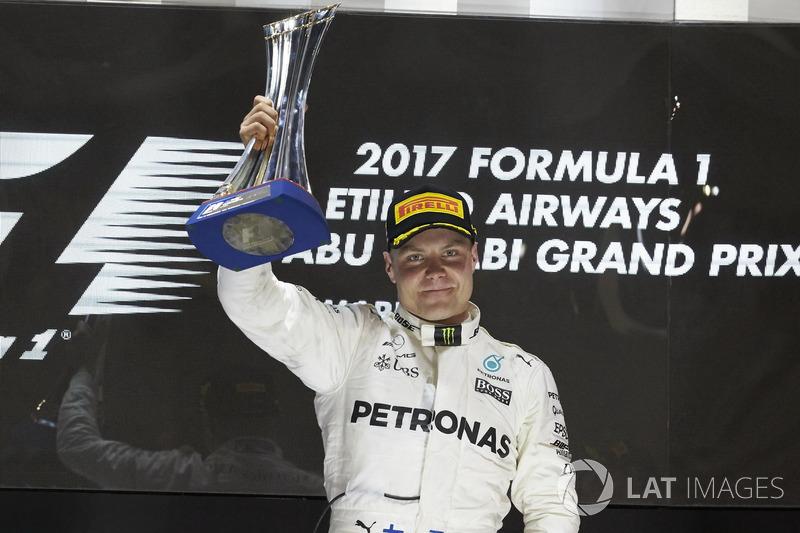 2017: Bottas, quinto ganador en Abu Dhabi