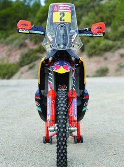 La moto de Matthias Walkner, Red Bull KTM Factory Team