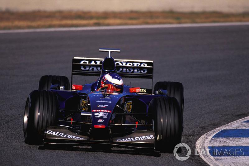 Jenson Button, Prost AP02 Peugeot