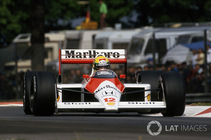 1988 San Marino: McLaren MP4/4