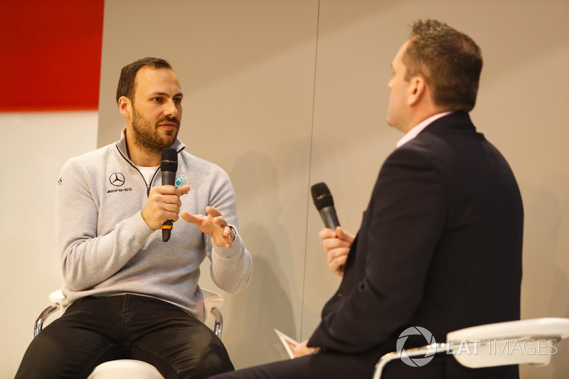 Gary Paffett speaks to Henry Hope-Frost on the Autosport Stage