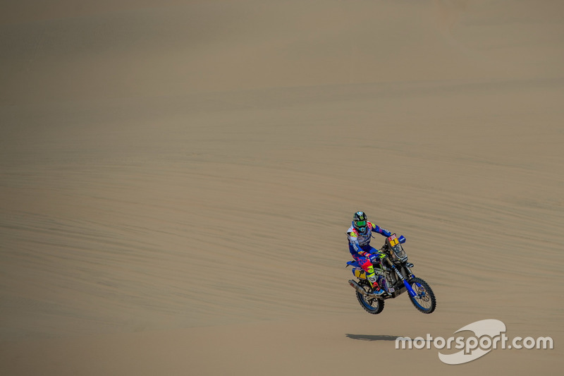 5. #7 Yamaha Official Rally Team: Franco Caimi