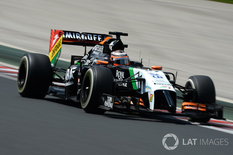2014: Force India VJM07 (один подиум, 6-е место в КК)