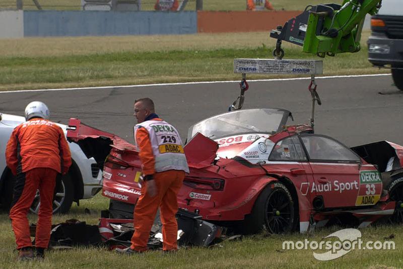 Der Unfall von Rene Rast