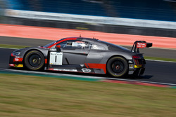 #1 Belgian Audi Club Team WRT Audi R8 LMS: Alex Riberas, Christopher Mies, Dries Vanthoor