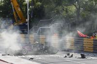 Crash, Sérgio Sette Câmara, Motopark with VEB, Dallara Volkswagen