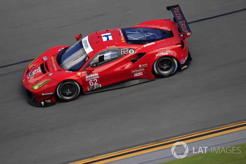 27.- #62 Risi Competizione Ferrari 488 GTE: Toni Vilander