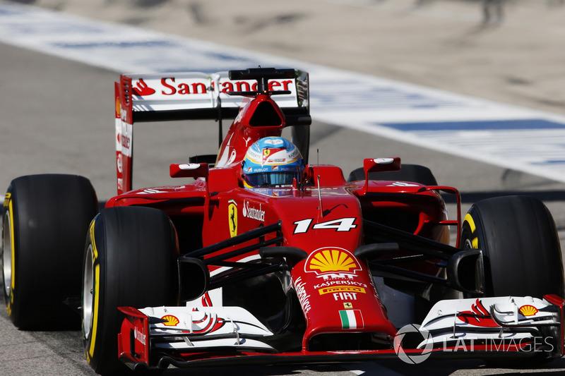 2014: Fernando Alonso, Ferrari F14 T