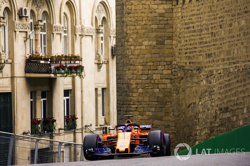 12: Fernando Alonso, McLaren MCL33 Renault, 1'44.019