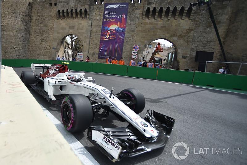 Seu primeiro momento de destaque na F1 veio no Azerbaijão, quando fechou em sexto. Dali para frente, iniciou uma fase com grandes atuações.
