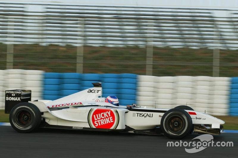Дженсон Баттон, BAR Honda 004