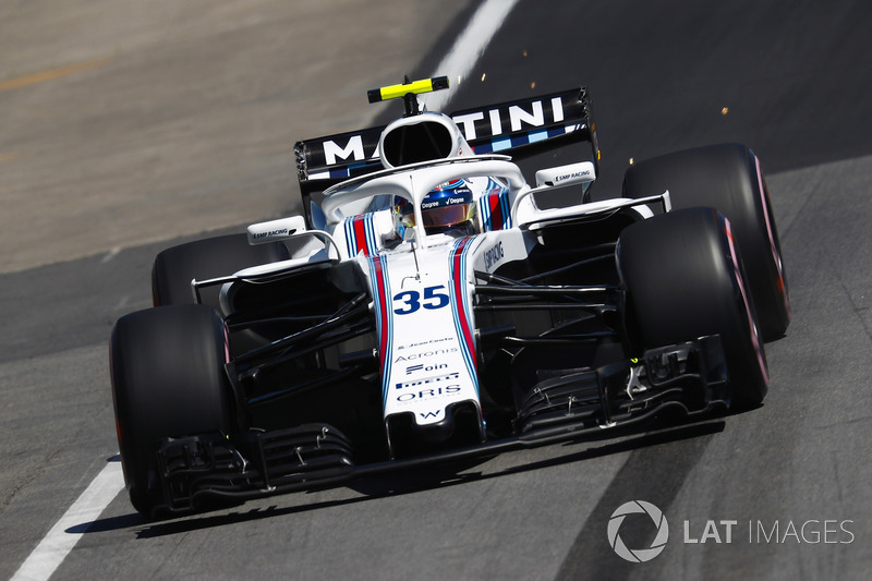Sergey Sirotkin, Williams FW41.