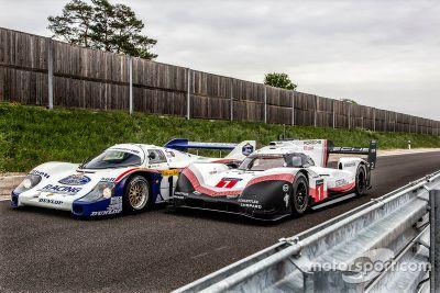 Porsche 919 Hybrid Evo y 956 C